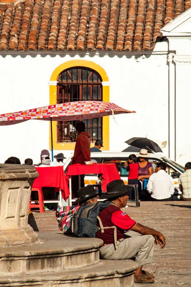 La fuente Sucre, Chuquisaca, Bolivia