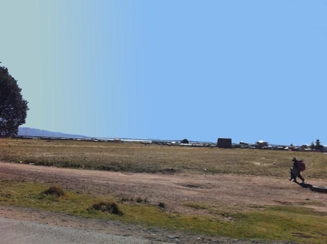 De regreso Desaguadero, Frontera Bolivia-Perú