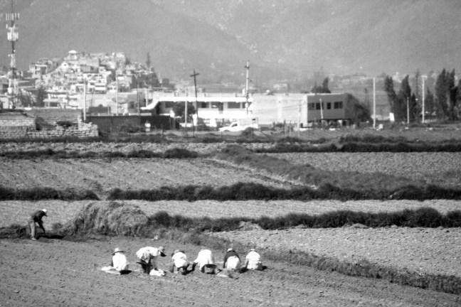 Vista de la ciudad Carretera de Arequipa a Puno, Perú