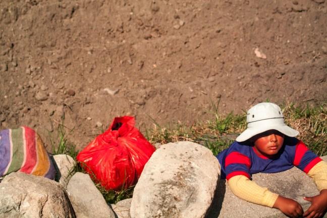 El descanso Carretera Arequipa a Puno, Perú