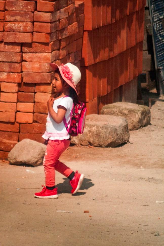 La escolar Carretera Arequipa a Puno, Perú