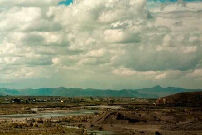 El altiplano Carretera de Arequipa a Puno, Perú
