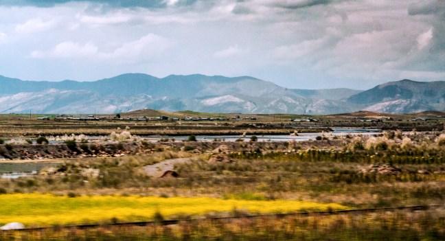 La planicie Carretera Puno a Desaguadero, Perú