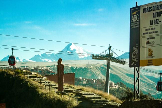 Entrada hacia la Paz El Alto, La Paz, Bolivia