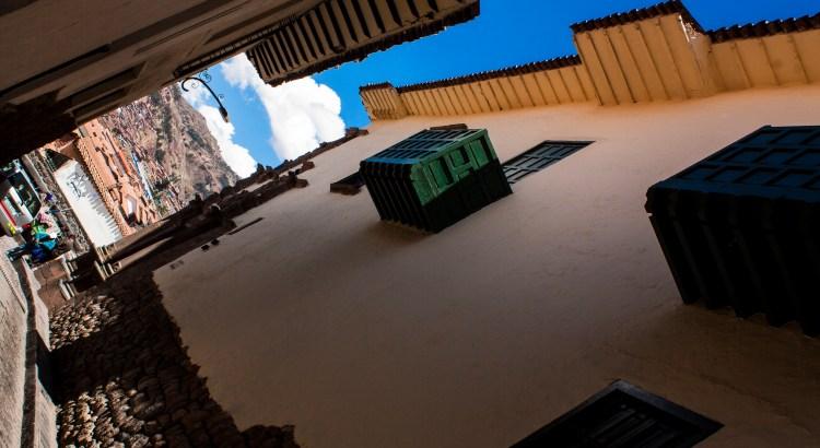 Balcones Centro histórico, Cusco, Perú