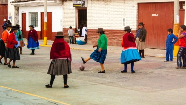Futbol callejero Andahuaylas, Apurímac, Perú
