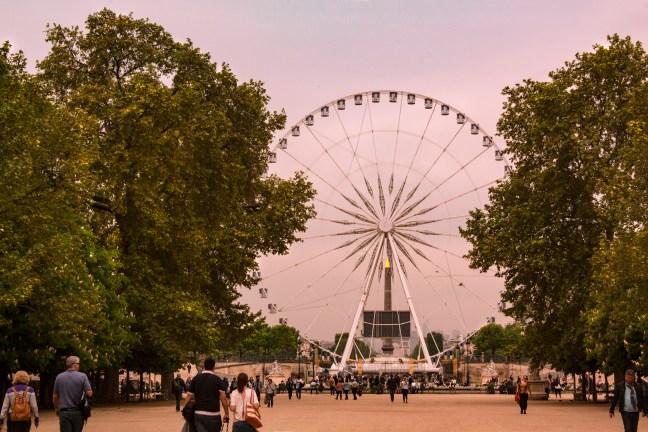 La rueda de la fortuna París, Francia