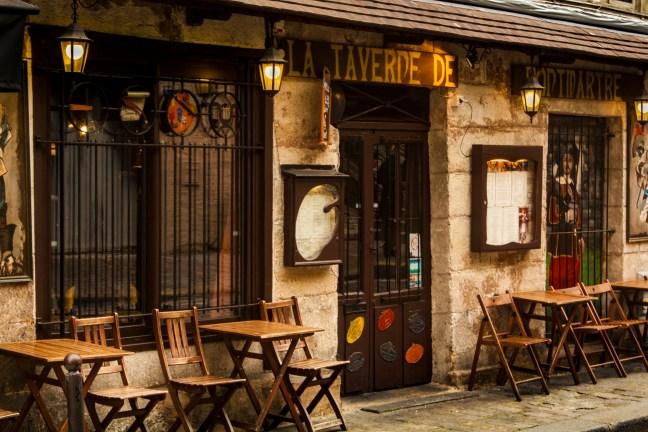 Calles del barrio París, Francia