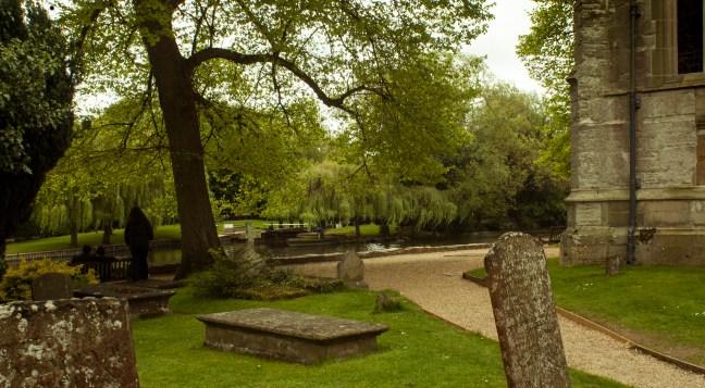 En el cementerio Coventry, Warwickshire, UK