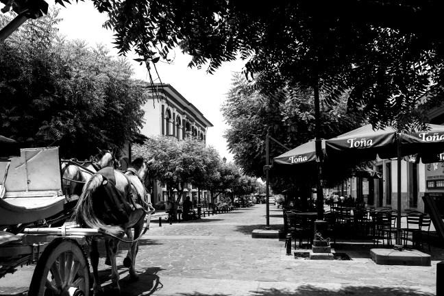 Calles del centro Granada, Nicaragua