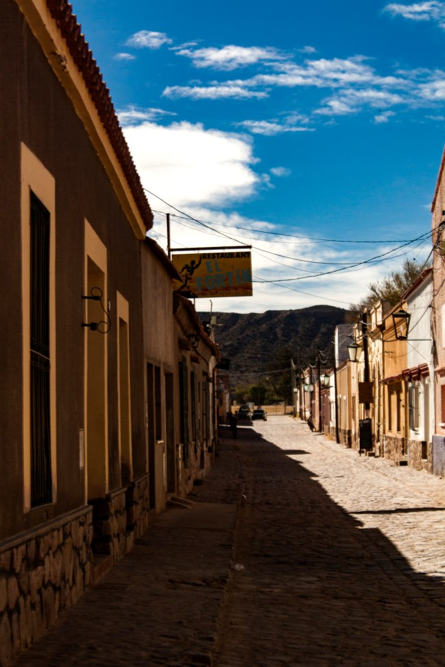 Las calles Humahuaca, Jujuy, Argentina