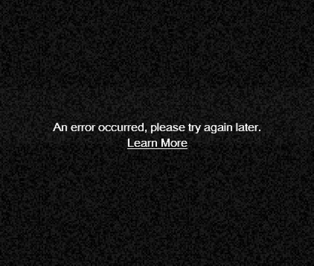 Image Result For Error Has Occurred Youtube