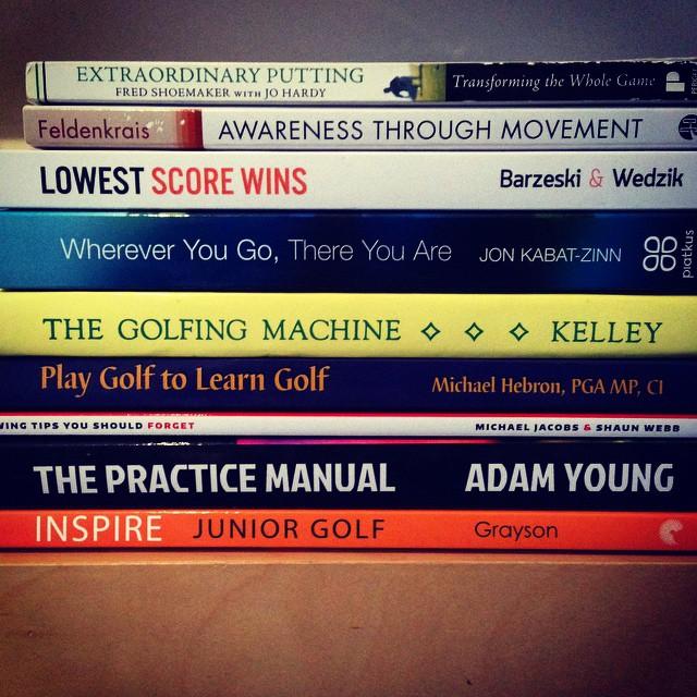Książki golfowe