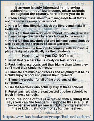 faceboook badass teachers