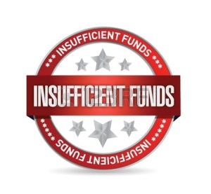 insufficient-funds-seal-illustration-design-over-a-white-background