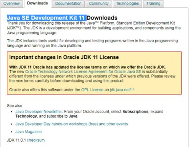 JDK 11 and above