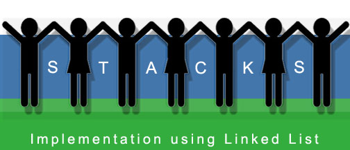 Stacks using Linked Lists in C++ – Question with solution