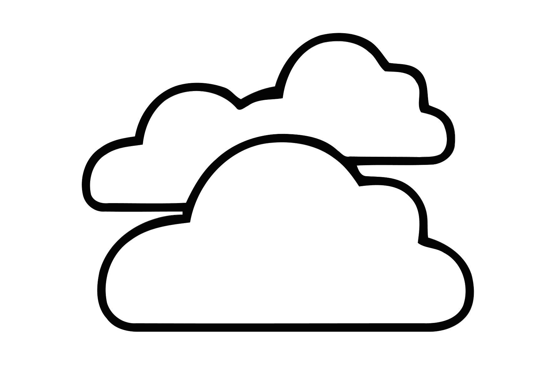 Coloring Page 01a Cloudy Img 11399