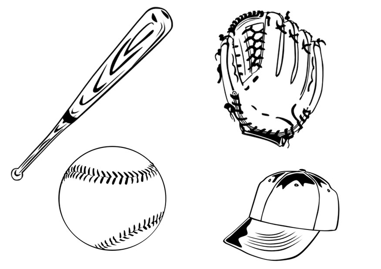 Coloring Page Baseball Free Printable Coloring Pages