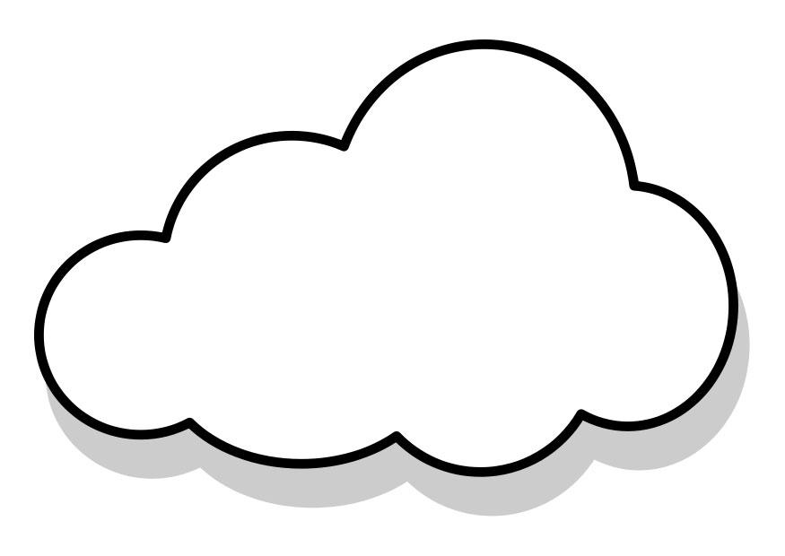 Coloring Page Cloud Img 22857