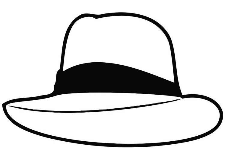 Coloring Page Hat Free Printable Coloring Pages