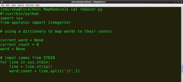 Hadoop Streaming: Writing A Hadoop MapReduce Program In Python