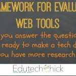 A Framework for Evaluating Web Tools