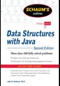 Data Structures With Java– by Schaum Series PDF