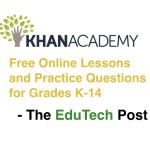 Khan academy lessons