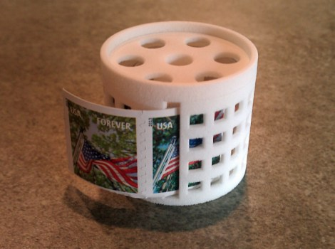 postage stamp holder 3d print