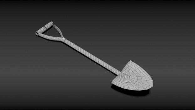 spade 3d printed