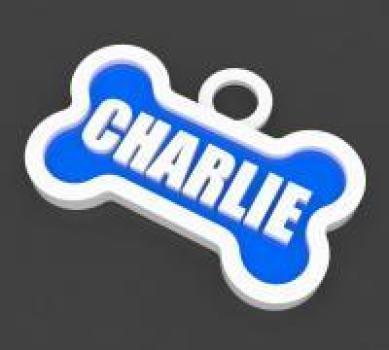 3d printed dog tag