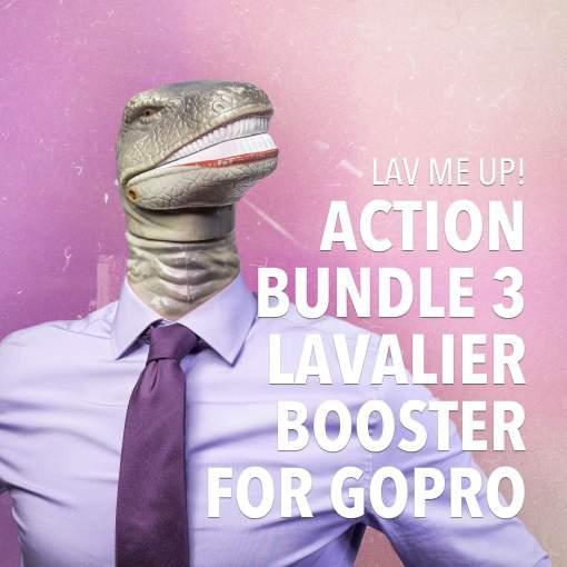 Best lavalier microphone for the GoPro Hero3 Hero3+ Hero4