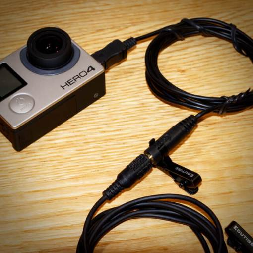 How to get good audio for GoPro