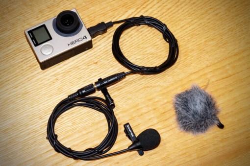 Edutige ETM-006 best external microphone for GoPro