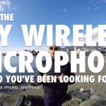 DIY wireless microphone for GoPro DSLR iPhone