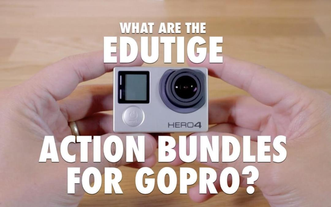 What are the Edutige Action Bundles for GoPro®?