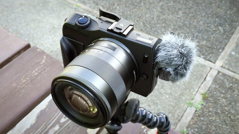 Vlogger camera canon