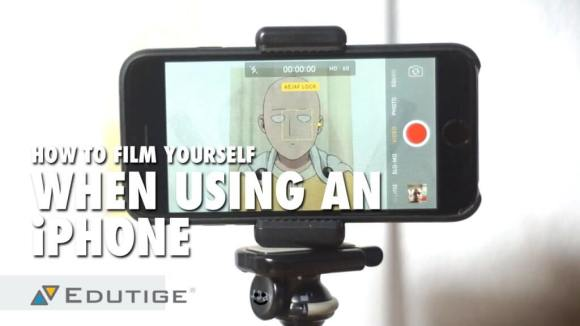 How to Film Yourself When Using an iPhone - Edutige Microphones ...