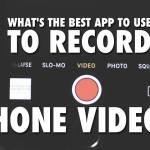 Best iPhone video app for beginners