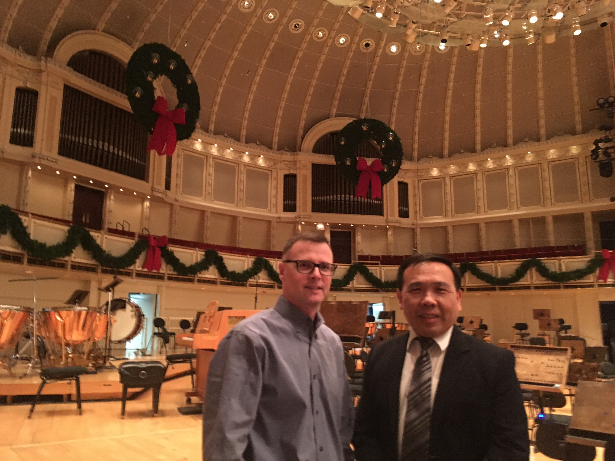 Visit Assistant Director Michael Lavin of Chicago Symphony Orchestra