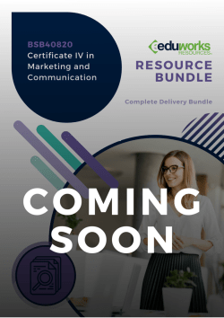 BSB40820 Certificate IV in Marketing and Communication Coming soon