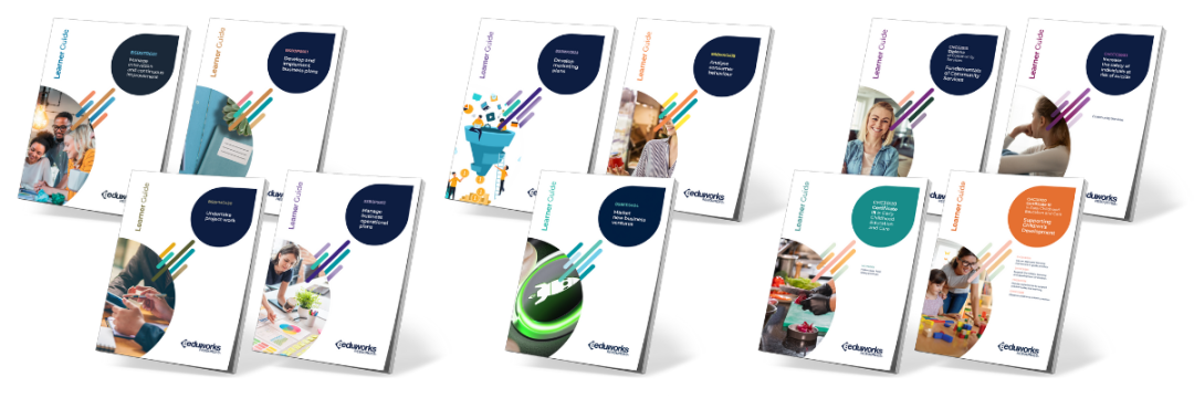 Learner Guides Printed examples