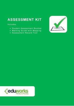 Assessment Kit - BSBHRM512 Develop and manage performance management processes