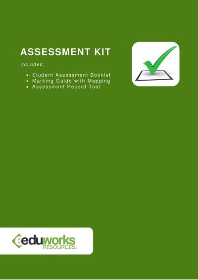 Assessment Kit (Cluster) - TAEASS401B, TAEASS402B, TAEASS403B Assessment & Validation