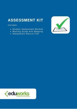 Assessment Kit - CHCECE013 Use information about children to inform practice