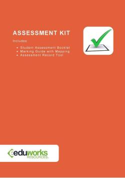 Assessment Kit - CPPDSM4003A Appraise property