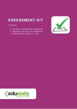 Assessment Kit - CPPDSM4004A Conduct auctions