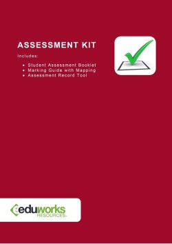 Assessment Kit - CPPDSM4009B Interpret legislation to complete agency work