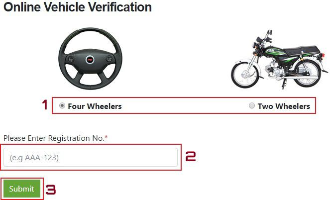 How to Verify Sindh Vehicles Online